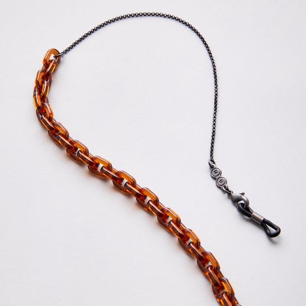 Gemini Chain in Sunflower Gunmetal