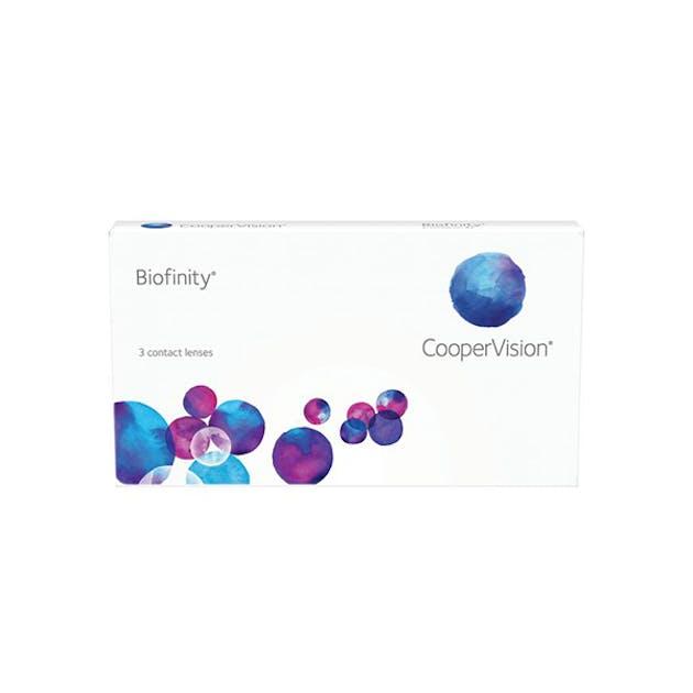 Biofinity - 3 pack in 3 pack