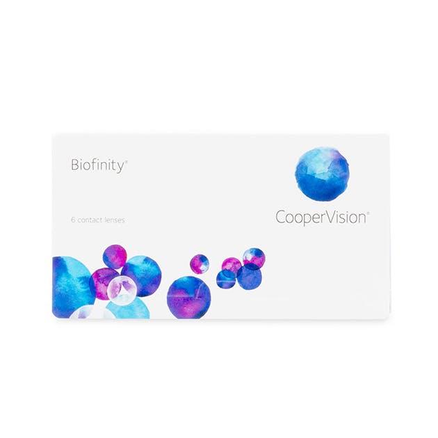 Biofinity - 6 pack in 6 pack