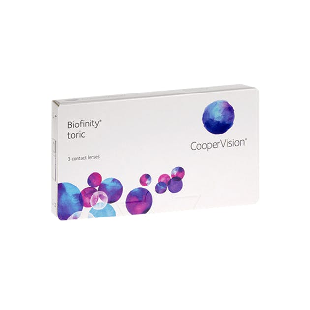 Biofinity Toric - 3 pack in 3 pack