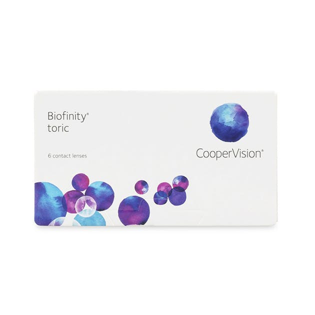 Biofinity Toric - 6 pack in 6 pack