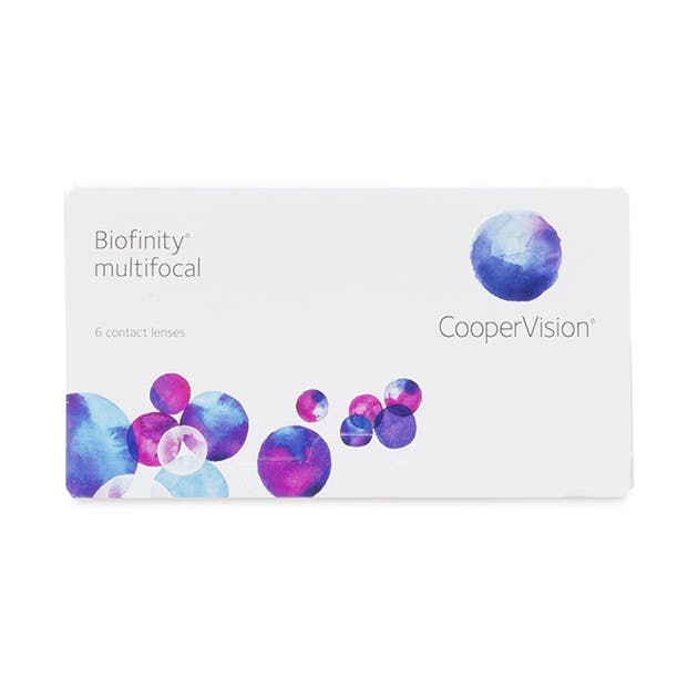 Biofinity Multifocal - 6 pack in 6 pack