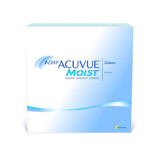 1 Day Acuvue Moist - 90 pack in 90 pack