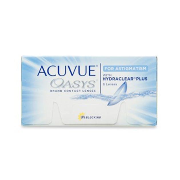 Acuvue Oasys for Astigmatism - 6 pack in 6 pack
