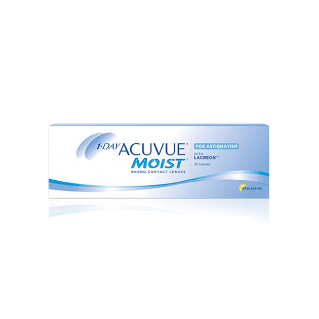 1 Day Acuvue Moist for Astigmatism - 30 pack in 30 pack