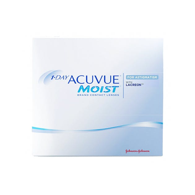 1 Day Acuvue Moist for Astigmatism - 90 pack in 90 pack