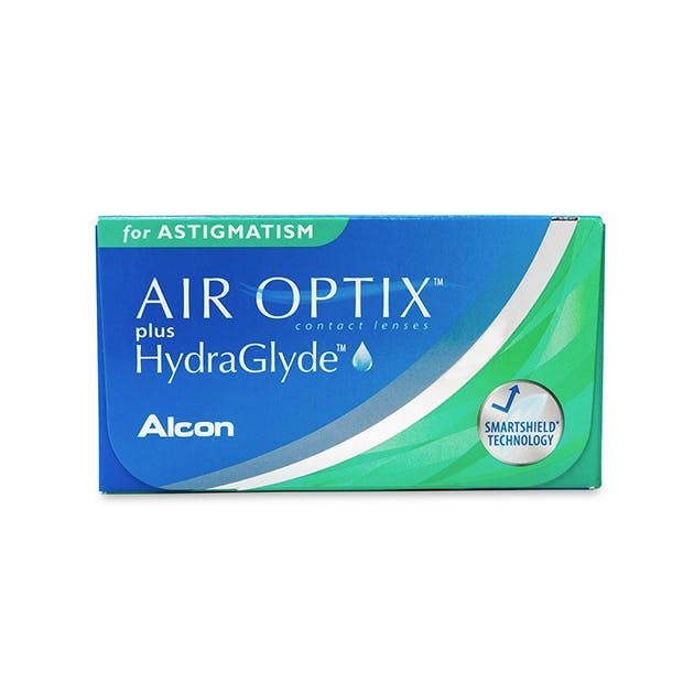 Air Optix plus HydraGlyde for Astigmatism - 6 pack in 6 pack