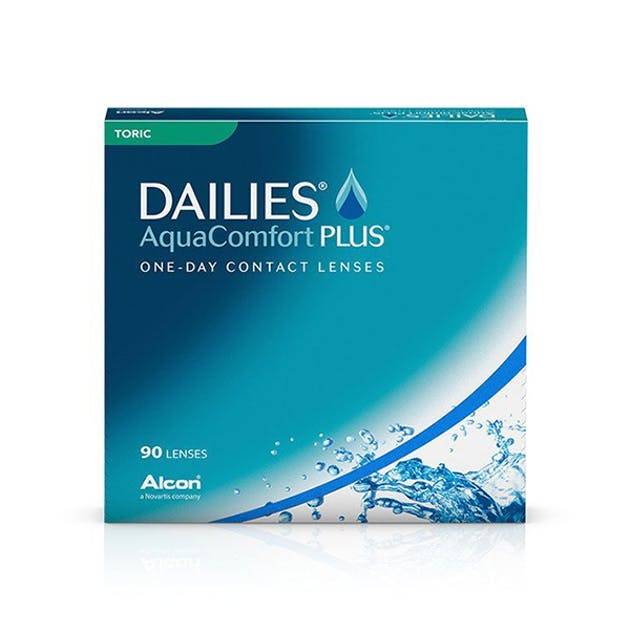 Dailies AquaComfort Plus Toric - 90 pack in 90 pack