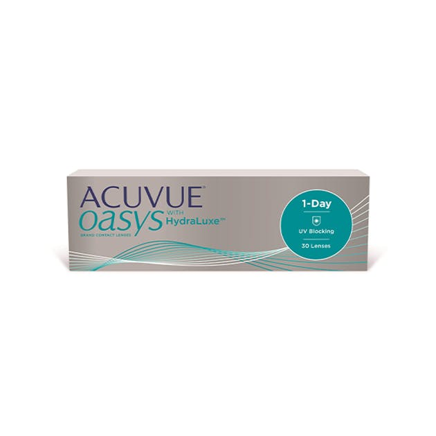 1 Day Acuvue Oasys Hydraluxe - 30 pack in 30 pack