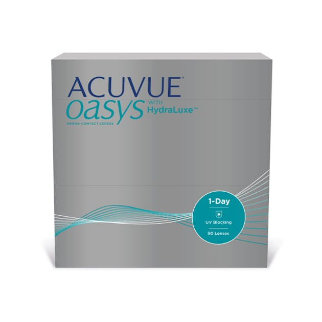 1 Day Acuvue Oasys Hydraluxe - 90 pack in 90 pack