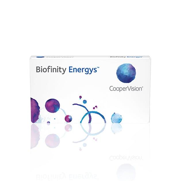 Biofinity Energys - 3 pack in 3 pack