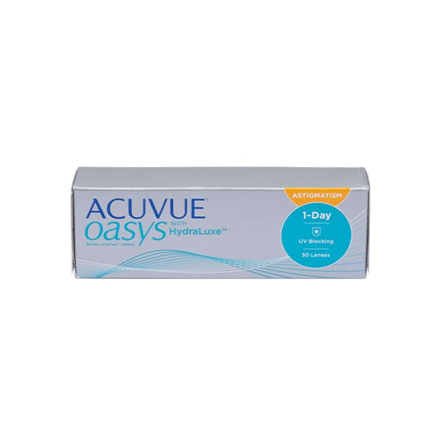 1 Day Acuvue Oasys Hydraluxe for Astigmatism - 30 pack in 30 pack