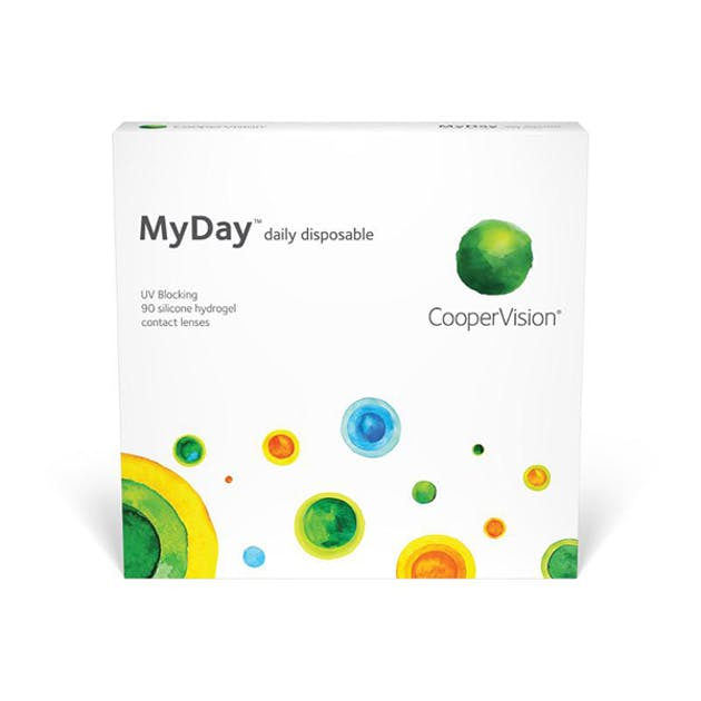 MyDay Daily Disposable - 90 pack in 90 pack