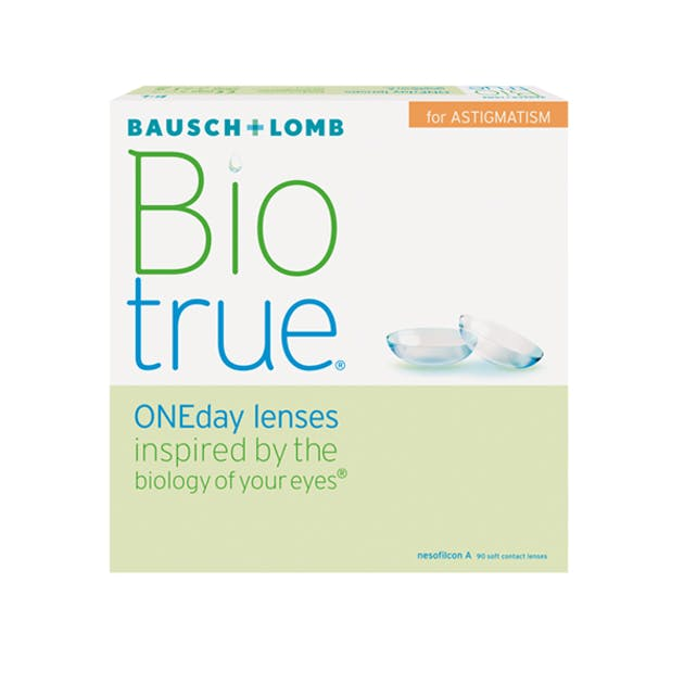 BioTrue ONEday for Astigmatism - 90 pack in 90 pack