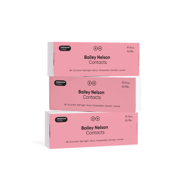 Bailey Nelson Premium Contacts Toric - 90 pack in 90 pack
