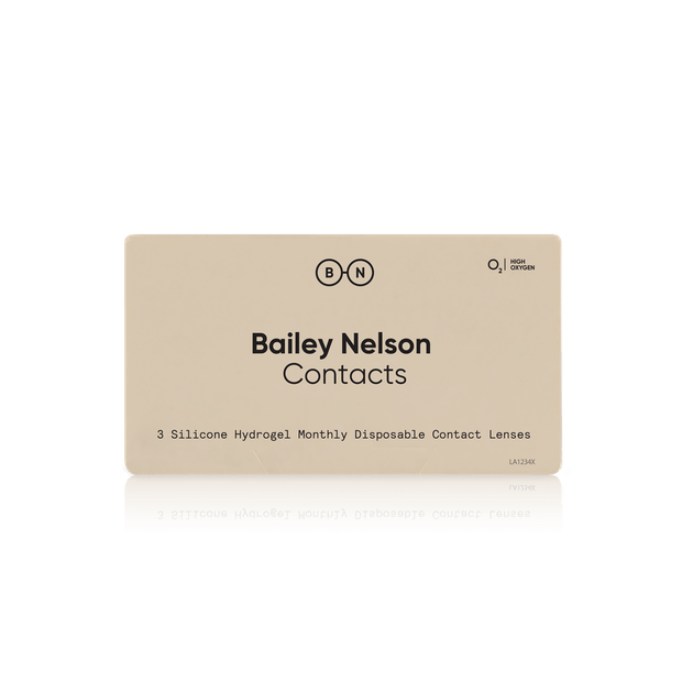Bailey Nelson Monthly Contacts - 3 pack in 3 pack