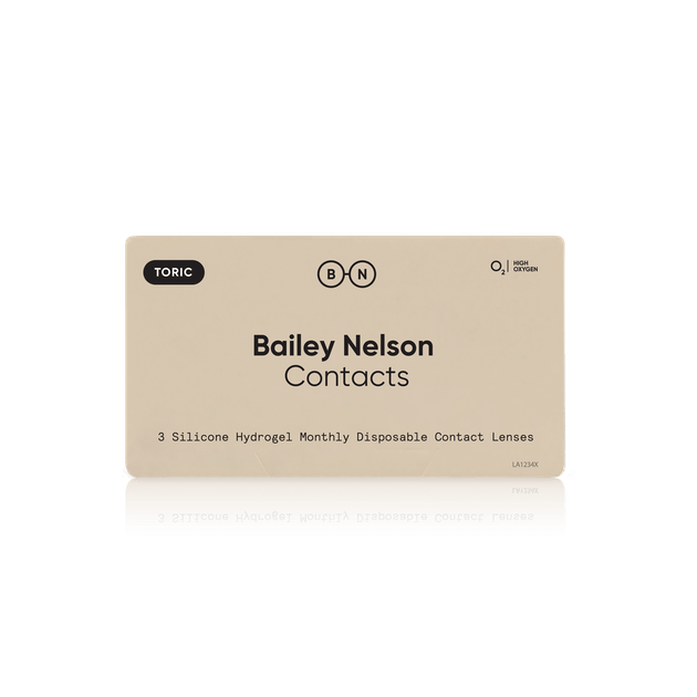 Bailey Nelson Monthly Contacts Toric - 3 pack in 3 pack