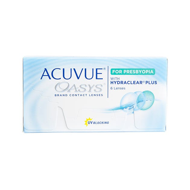 Acuvue Oasys for Presbyopia - 6 pack in 6 pack