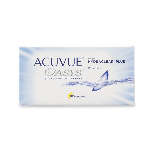 Acuvue Oasys with Hydraclear Plus - 12 pack in 12 pack