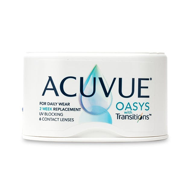 Acuvue Oasys with Transition - 6 pack in 6 pack