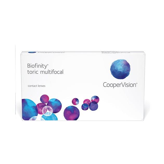 Biofinity Toric Multifocal - 6 pack in 6 pack