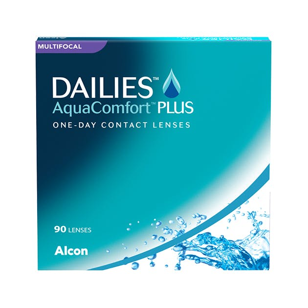 Dailies AquaComfort Plus Multifocal - 90 pack in 90 pack